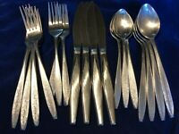 EKCO ETERNA 20 Piece Stainless Flatware Set Service for 4 - CHOICE of PATTERN