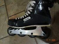 BAUER (off ice) Inline Competition Hockey Skates - Mens Size 11 used inline