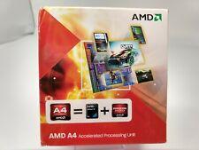 AMD Fusion A4-3300 2.5GHz Dual-Core (AD3300OJHXBOX) Processor