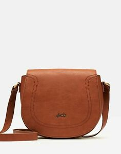 Joules Womens 211172 Pu Cross Body Bag - Tan - One Size