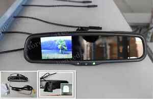 "Rear view mirror backup display 3.5"", fits Ford,GM,Toyota,Nissan,Chevolet,etc"