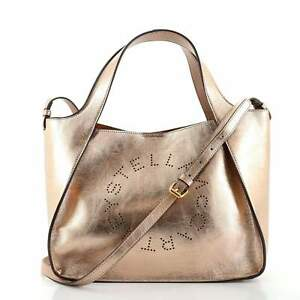 Stella McCartney Alter Tote Perforated Faux Leather Small