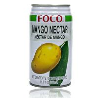 Foco - Mango Saft Drink in 350 ml Dose - Premium Juice Mangosaft (Nektar)