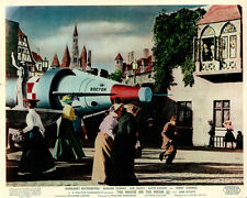 The Mouse On The Moon Original Lobby Card Rocket Scene