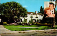 Vtg Residence Of Desi Arnez & Lucille Ball Beverly Hills California CA Postcard