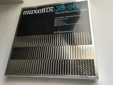 SEALED MAXELL 35-90 SOUND RECORDING TAPE LOW NOISE