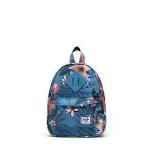Herschel Heritage Mini Floral Blue Backpack