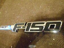2009 2010 2011 2012 2013 FORD F150 F-150 XLT FRONT FENDER EMBLEM 9L3Z-16720-CB L