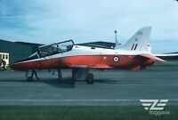 Original slide XX175 Hawk Royal Air Force, RAF, 1977
