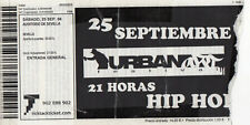 URBAN ART FESTIVAL - SEVILLA 2004 TICKET / HIP HOP - RAP - GRAFFITI