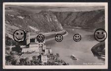 216T  AK  Ansichtskarte  Sankt Goarshausen   Burg  Katz  &  Loreley    RLP