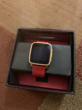 Pebble Time Steel Excellent Condition 38mm Stainless Steel Red Classic Buckle
