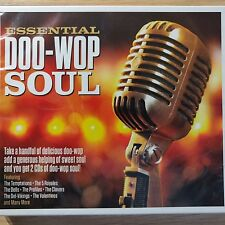 2CD NEW - ESSENTIAL DOO-WOP SOUL - Pop Rock & Roll 50s Music 2x CD Album