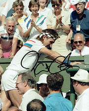 Pat CASH SIGNED Austrailian Tennis Autograph Photo AFTAL COA Wimbledon Champion