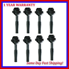 For 8PC Ignition coils UF415 EJG415 JAGUAR XJ8 XJR XKR XK8 4.0L V8 96-03
