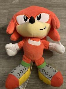 "Sonic The Hedgehog Plush Figure 7"" tails knuckles Stuffed"