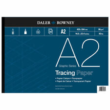 Daler Rowney Tracing Paper Pad - 90 gsm - A2