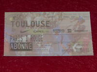 [COLLECTION SPORT FOOTBALL] TICKET PSG / TOULOUSE 3 MARS 2001 Champ.France