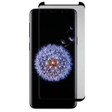 Curved Tempered Glass Screen Protector For Samsung Galaxy S9+ Black Ice Cornice