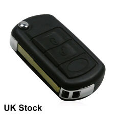 3 Button Flip Key Shell Fob Blade 4 Land Rover Range Rover Sport LR3 Discovery