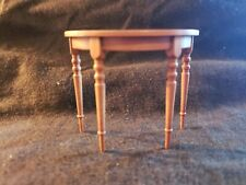 Dollhouse Artisan Miniature  Don Cnossen Signed HallTable