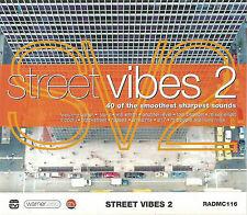 STREET VIBES 2 USHER JAY-Z KELE LE ROC LL COOL J  2X CASSETTES 40 TR SOUL HIPHOP