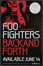 Foo Fighters Back and Forth 2011 Promo Poster