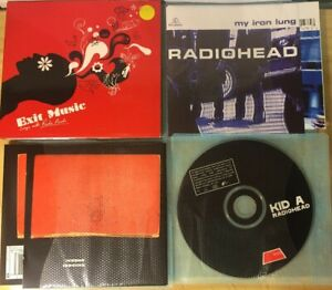 RADIOHEAD [incl Exit Music covers] CD set (4 discs)