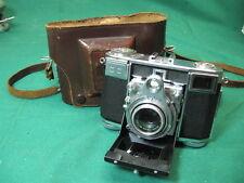 Zeiss Ikon Contessa 35 rangefinder camera. Tessar 45mm lens. Compact folding gem