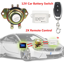 Universal Car Battery Switch Wireless Remote Control Battery Switch Master Kill