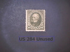 Us 284 15 Cent Clay Olive Brown F Mogh ScCv $150