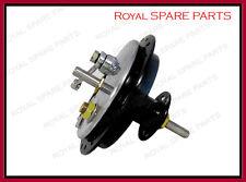 Royal Enfield Early Front Half Width Wheel Hub Brake Bearings Axle Complete
