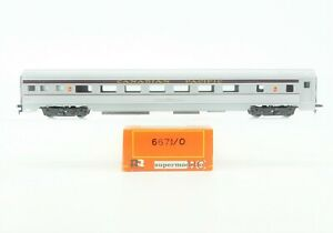 HO Scale Rivarossi 6671/0 CP Canadian Pacific Coach Passenger Car #2293