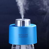 USB Portable Mini Water Bottle Caps Humidifier Aroma Air Diffuser Mist Maker