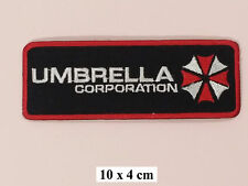 Umbrella Corporation Embroidery  Iron  On Patch/ Badge