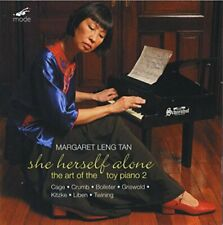 MARGARET LENG TAN/TOY PIANO - SHE HERSELF ALONE [CD]
