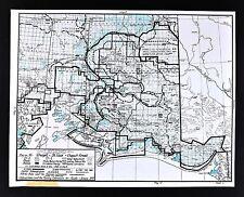 1978 Alaska Map  Wrangell St. Elias Park Copper Wild River Chugach Forest Valdez