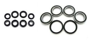 Dinli 450 Sport R Front Wheel & Rear Axle Wheel Bearing & Seal Kits