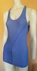 Lululemon Athletic Workout Tennis Running Tank Top Shirt Women's Size 6-8? Blue