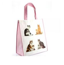 Cats and Kitten Shopping Bag 40cm x 35cm