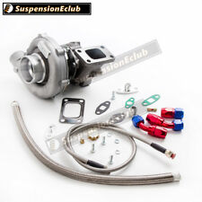T3/T4 T04E STAGEIII TURBO +OIL FEED+OIL RETURN FOR CIVIC CRX 88- D16 D16 Y7 D16Y