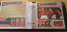 Manchester United / Man Utd 2001-02 Football Club Victory Card Stamp Album