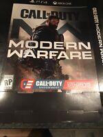 CALL Of DUTY MODERN WARFARE  GameStop Exclusive Promo Poster Box Ships Same Day