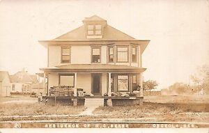 Real Photo Postcard Residence of H.C. Beebe in Osceola, Nebraska~111305
