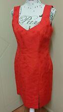 Pia Du Pradal Australian Designer Couture Ladies Dress Size 12 14 Racewear Races