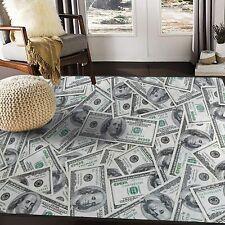 Hundred Dollar Fluffy Rug Anti-Skid Shaggy Area Rug Living Room Carpet Floor Mat