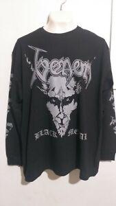 Venom black metal long sleeve T shirt heavy metal bathory hellhammer