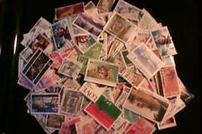 200 GRAMS WORLD KILOWARE USED OFF AND ON PAPER STAMPS GOOD SELECTION