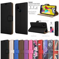 For Samsung Galaxy M31 Wallet Case, Premium Leather Phone Cover + Screen Guard