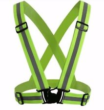Reflective Adjustable Safety Vest Gear High Visibility Security Stripes Jacket